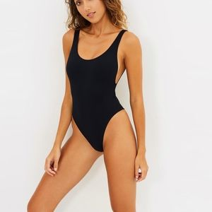 NWT $98 SEAFOLLY US 4 RETRO ACTIVE ONE PIECE